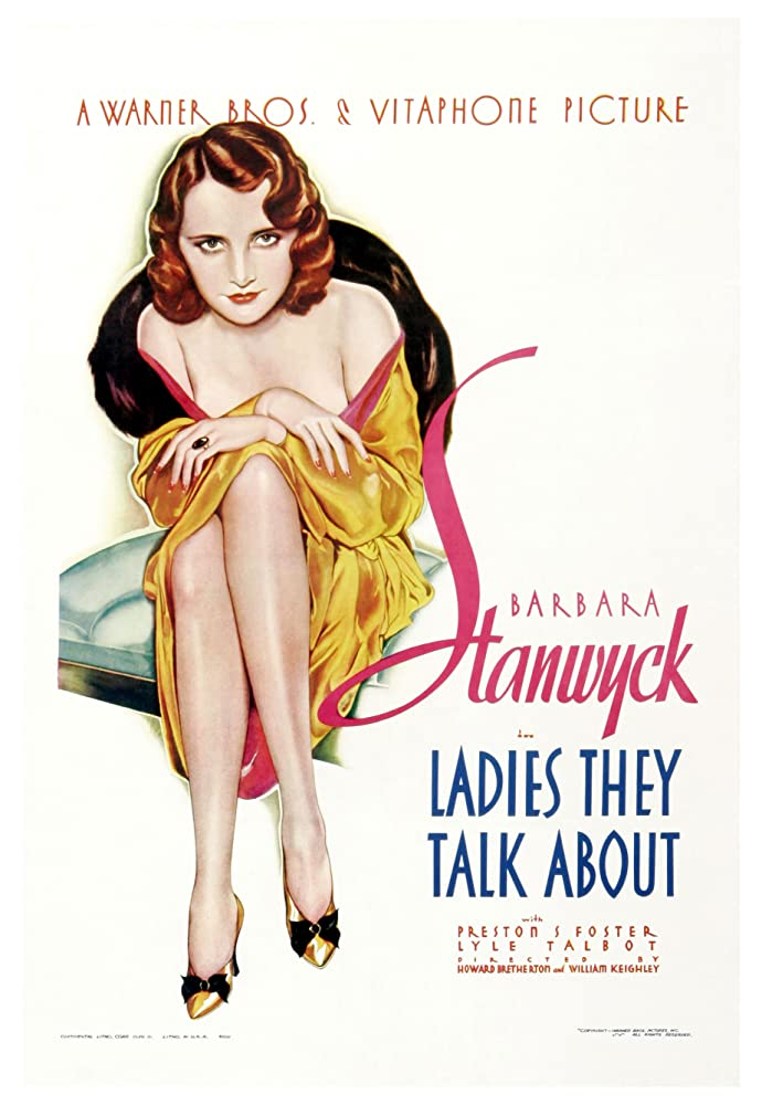 Barbara Stanwyck in Ladies They Talk About (1933)