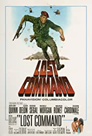 Lost Command (1966) Poster - Movie Forum, Cast, Reviews