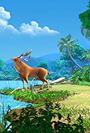 Mowgli and the Sambar Deer Poster