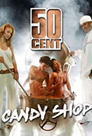 50 Cent and Olivia Longott in 50 Cent Feat. Olivia: Candy Shop (2005)