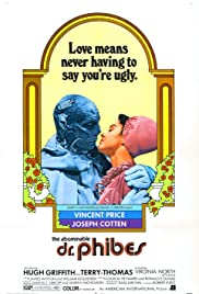 The Abominable Dr. Phibes (1971) Poster - Movie Forum, Cast, Reviews