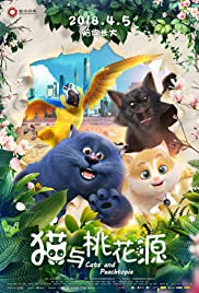 Watch Movie Cats and Peachtopia (2018)