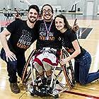 Shaina Koren Allen, Michael Esposito, and Mario Moran at an event for The Rebound (2016)