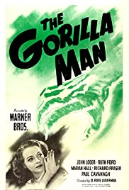 The Gorilla Man Poster