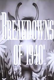 Breakdowns of 1940 Poster