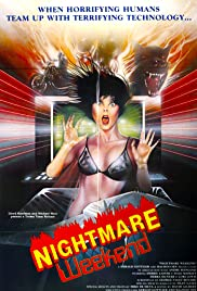Nightmare Weekend(1986) Poster - Movie Forum, Cast, Reviews