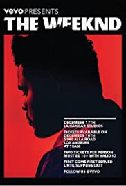 Vevo Presents: The Weeknd Poster
