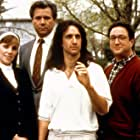Bess Armstrong, Bronson Pinchot, John Larroquette, and Stuart Pankin in Second Sight (1989)