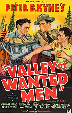 Where to stream Valley of Wanted Men