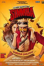 Ranveer Singh and Sara Ali Khan in Simmba (2018)