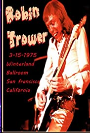 Robin Trower at Winterland 1975 Poster