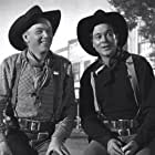 Harry Carey Jr. and Ben Johnson in Wagon Master (1950)