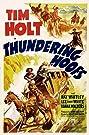 Thundering Hoofs (1942) Poster
