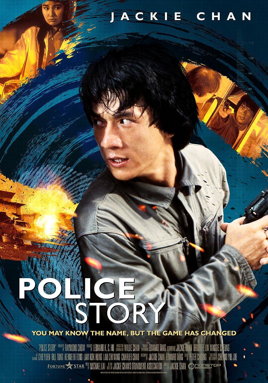 Police Story 1985 Dual Audio Hindi 720p BluRay ESub 890MB Download