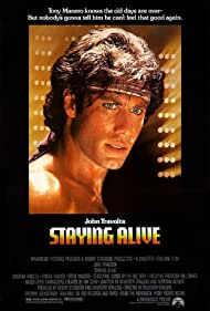 John Travolta in Staying Alive (1983)