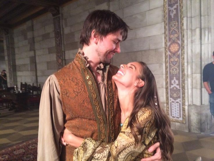 Caitlin Stasey and Torrance Coombs in Reign (2013)