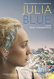 Julia Blue Poster