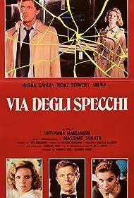 Heinz Bennent, Nicole Garcia, Milva, and Massimo Serato in Via degli specchi (1983)