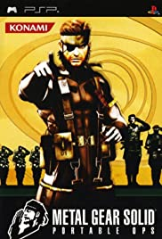 Metal Gear Solid: Portable Ops Poster