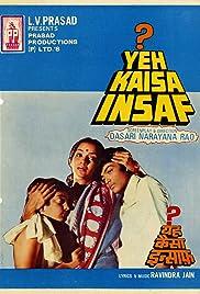 Yeh Kaisa Insaf? Poster