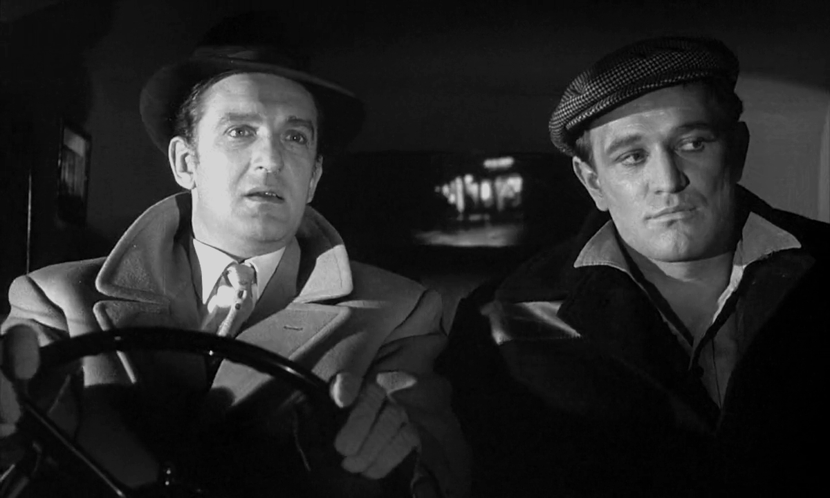Richard Harris and Alan Badel in This Sporting Life (1963)