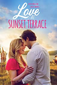Ellen Woglom and Carlo Marks in Love at Sunset Terrace (2020)
