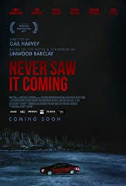 Never Saw It Coming Poster