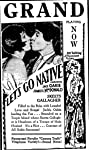 Let's Go Native (1930) Poster