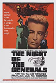 The Night of the Generals (1967) Poster - Movie Forum, Cast, Reviews
