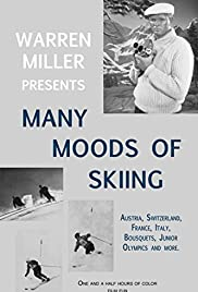 Many Moods of Skiing Poster