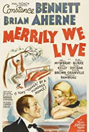 Merrily We Live (1938) Poster - Movie Forum, Cast, Reviews
