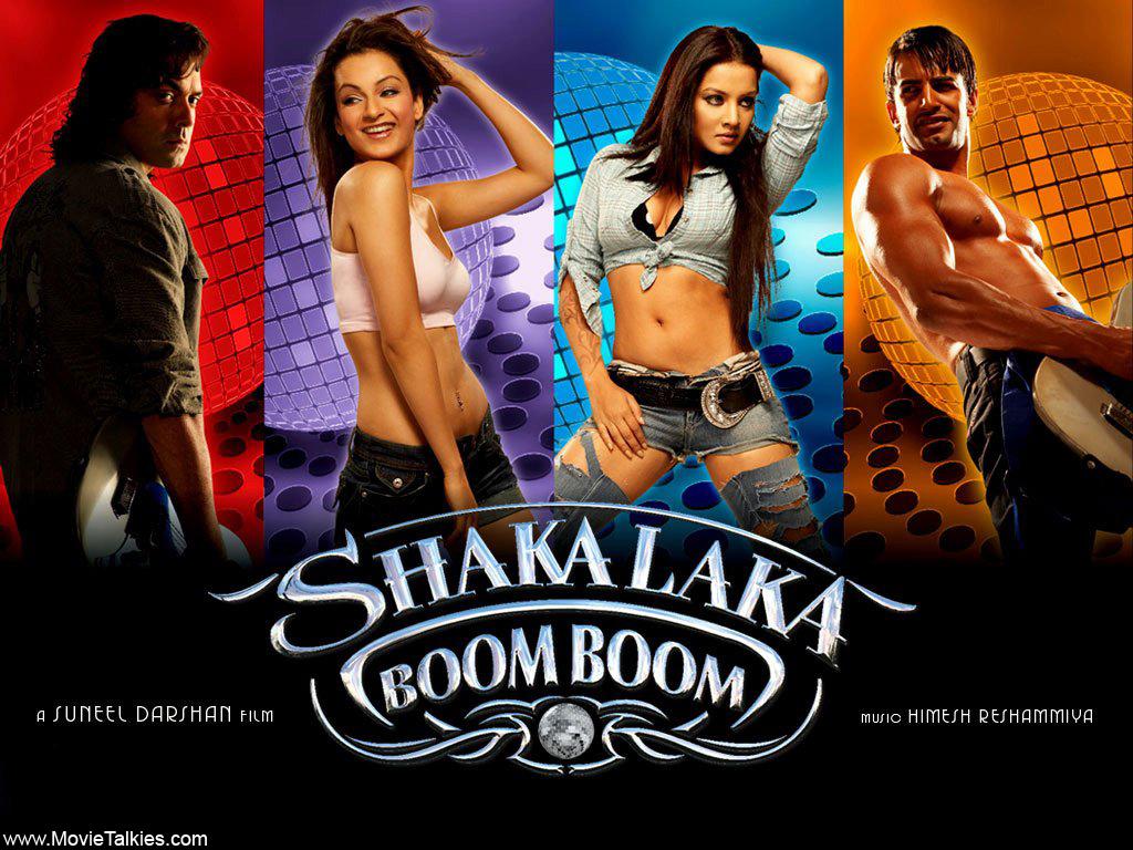 Bobby Deol, Celina Jaitly, Upen Patel, and Kangana Ranaut in Shakalaka Boom Boom (2007)