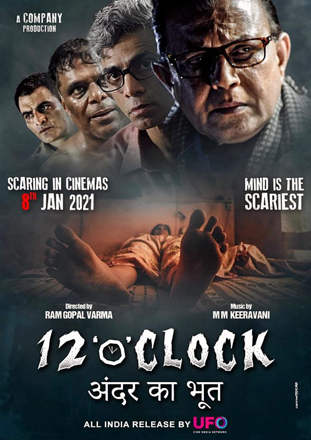 12 O' Clock 2021 Hindi 720p pDVDRip 850MB Download