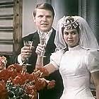Zhanna Goroshenya and Mikhail Kokshenov in Molodye (1971)