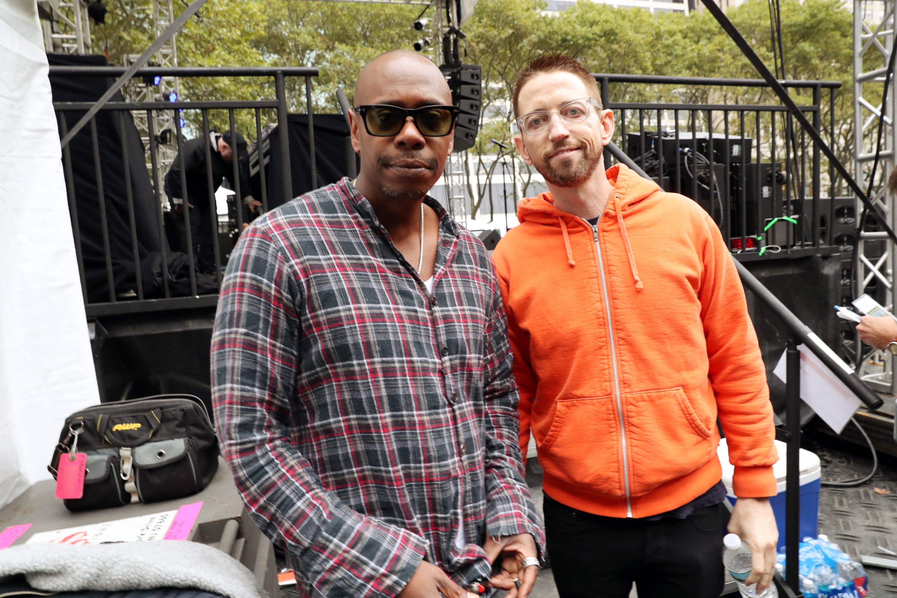 Neal Brennan and Dave Chappelle