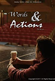 Words & Actions Poster