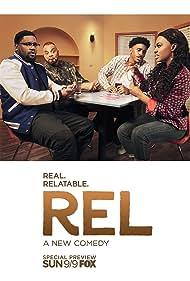 Sinbad, Lil Rel Howery, Jordan L. Jones, and Jessica 'Jess Hilarious' Moore in Rel (2018)