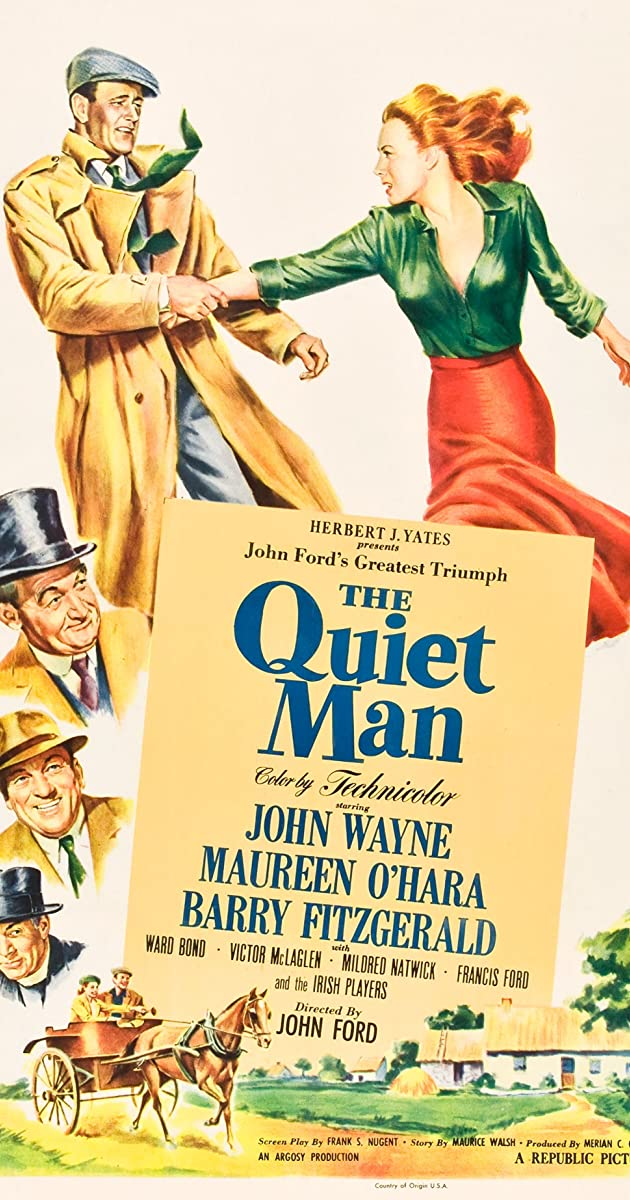 Subtitle of The Quiet Man