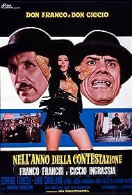 Edwige Fenech in Don Franco e Don Ciccio nell'anno della contestazione (1970)