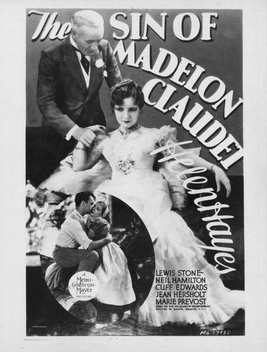Robert Young, Helen Hayes, and Lewis Stone in The Sin of Madelon Claudet (1931)