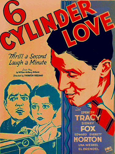Spencer Tracy, Sidney Fox, and Lorin Raker in 6 Cylinder Love (1931)