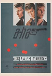 A-ha: The Living Daylights Poster
