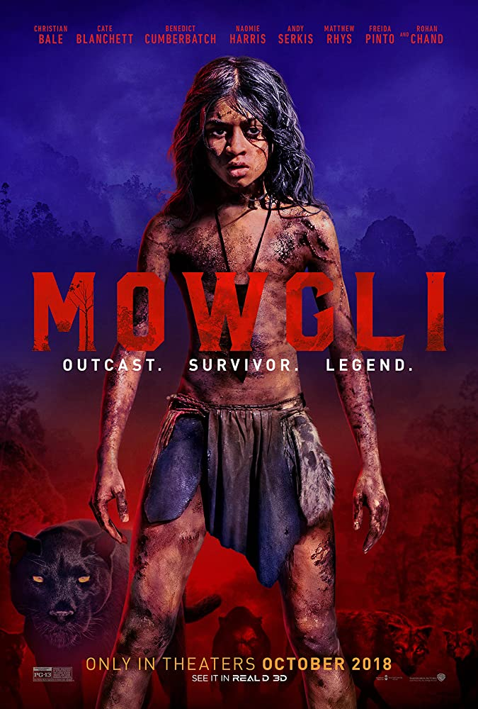 Mowgli Legend of the Jungle (2018) HDRip 720p 1.4GB DD5.1 [Hindi – English] MSub MKV