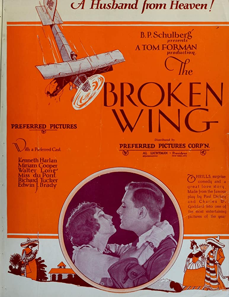 Miriam Cooper and Kenneth Harlan in The Broken Wing (1923)