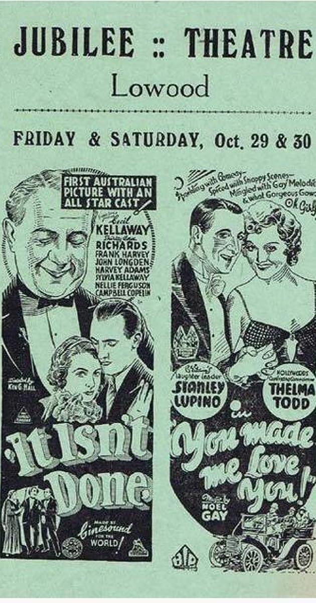 You Made Me Love You (1934) Subtitles
