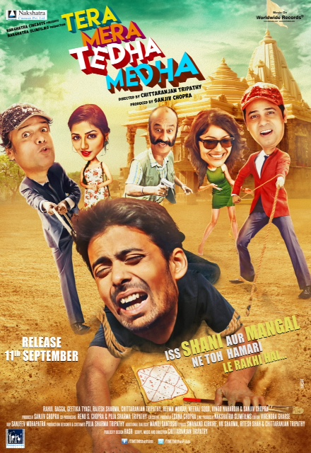 Tera Mera Tedha Medha (2015) Hindi 300MB HDRip 480p x264