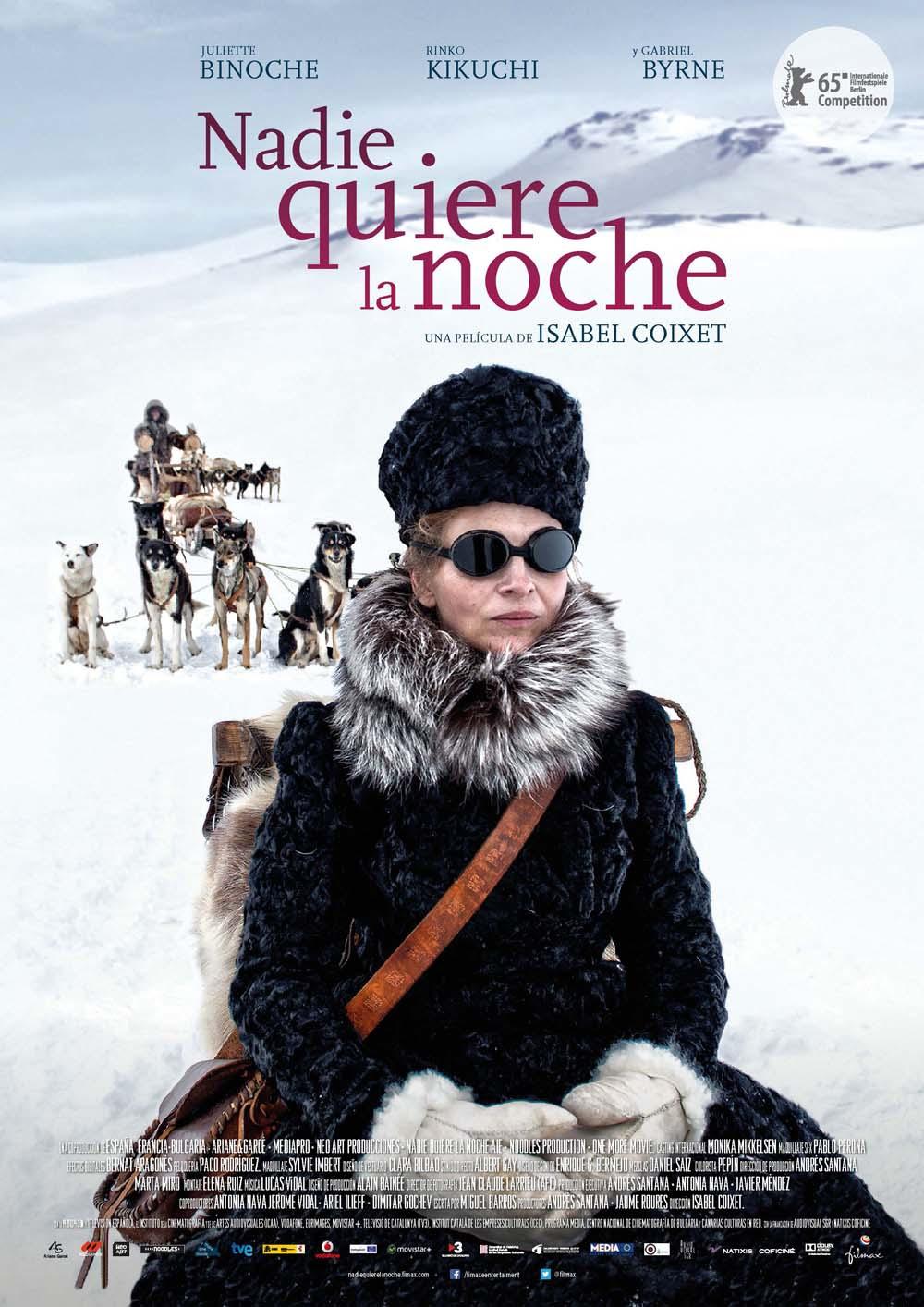 Juliette Binoche in Nadie quiere la noche (2015)