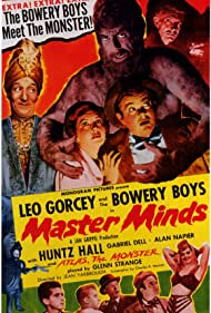 Master Minds (1949) Poster - Movie Forum, Cast, Reviews