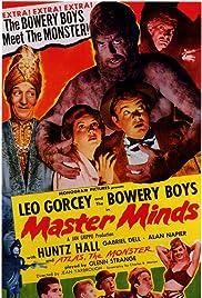 Master Minds(1949) Poster - Movie Forum, Cast, Reviews