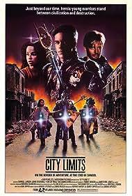 Rae Dawn Chong, John Stockwell, and Darrell Larson in City Limits (1984)